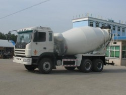JAC 8-10cbm concrete mixer truck