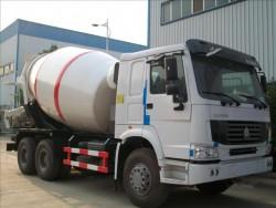 SINOTRUCK HOW 12CBM concrete mixer truck