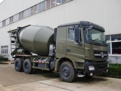 North Benz 6x4 8 cubic meters cement mixer truck