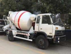 Dongfeng 4cbm concrete mixer truck