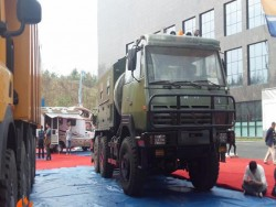 SHACMAN 6x6 Multifunction Army Military Rescue Truck
