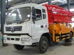 Dongfeng 4x2 35m concrete boom pump truck
