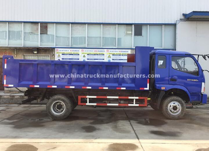 FORON 4x2 102hp small dump truck