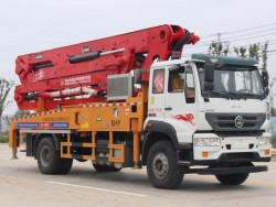 Supply 4X2 Drive form 35m Concrete pump trucks