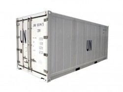 ISO standard insulated 20 ft shipping container insulated
