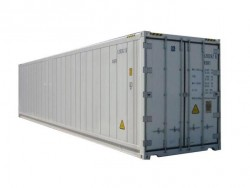 China 40 feet new insulated shipping container