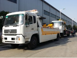 China 10 ton wrecker truck