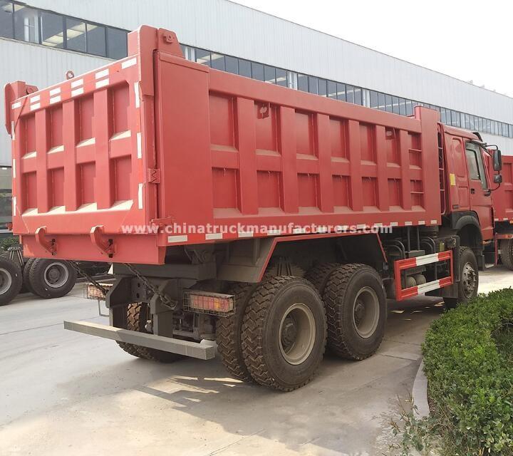 china 20 cube tipper truck