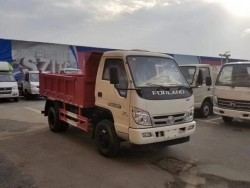 china 2 ton tipper truck