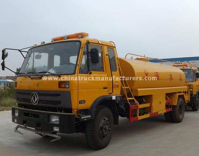 China 4x2 4000 gallon water trucks