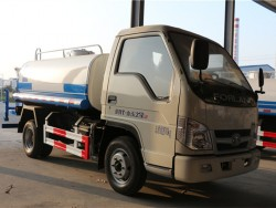 FOTON 4x2 1200 gallon water tank truck