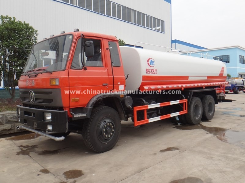 DONGFENG 6x4 5800 gallon water trucks