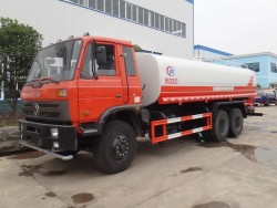 DONGFENG 6x4 5800 gallon water trucks