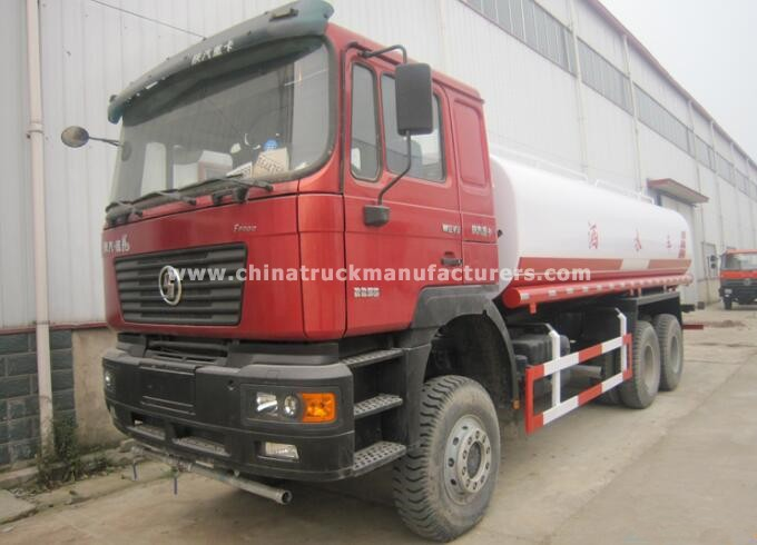 Shacman 6x4 10 Wheels 20000liters Water Tank Truck