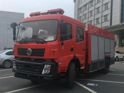 China Heavy 4*4 Rescue fire truck