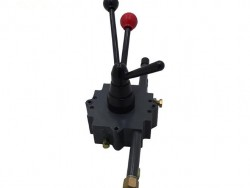throttle and pump control lever concrete mixer truck parts
