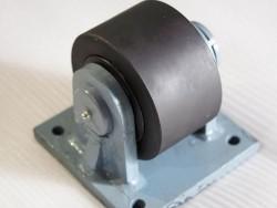 Concrete mixer parts roller assembly