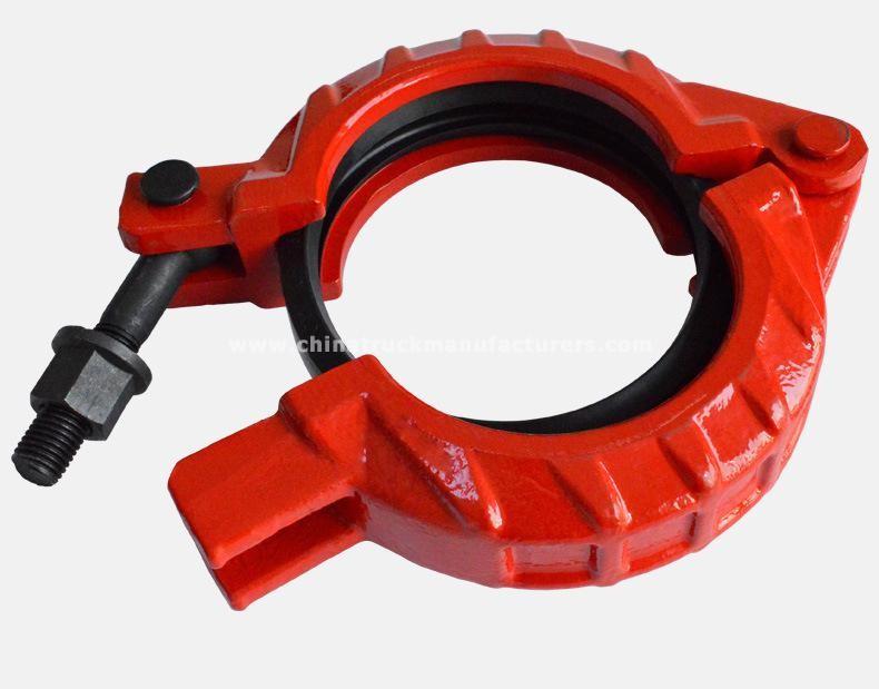 concrete pump fast clamp coupling factor