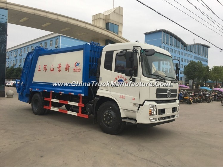 China 4X2 10 ton Garbage Compactor Truck