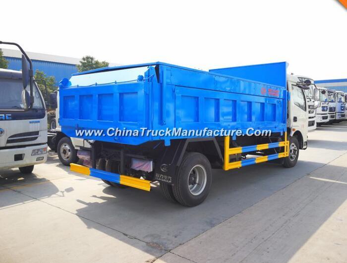 China 4X2 5 ton garbage dump truck