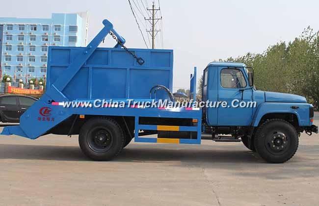 China 4x2 6 ton Swing Arm Garbage Truck