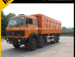 Beiben 6*4 Front Lifting Dump Truck with High Side Wall
