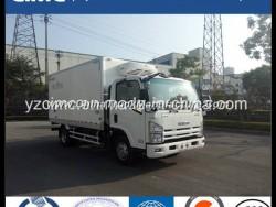 New China Isuzu Kv600 4X2 120HP Refrigerator Freezer Van Refrigerated Truck Euro5