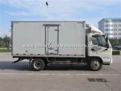 Euro II 6 Wheels 10 Wheels Refergerated Van Truck