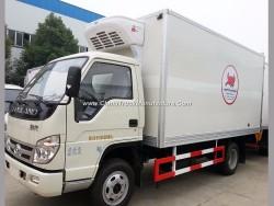 Top Quality 4t Isuzu Refrigerating Food Vegatable Transport Box Truck