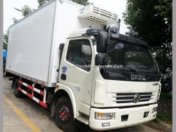 Manufacture 6m3 Vegetable Transportation Lorry Truck with Refrigeration Unit