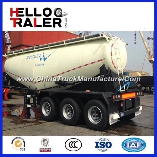 3 Axles 40m3 Bulk Cement Transport Truck with Compressor
