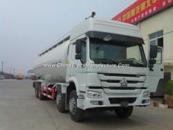 China Sinotruck 8X4 Dry Cement Bulk Tanker Truck