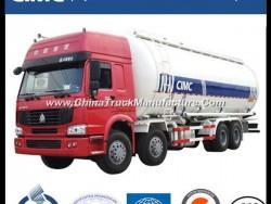 Sinotruk HOWO 8X4 Bulk Cement Tank Truck