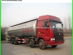 Sinotruck 8X4 HOWO Cement Tank Truck Price for Sale