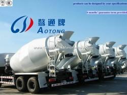 8cbm 6*4 Concrete Tanker Mixing Truck