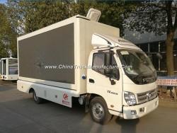 P4 P6 P8 P10 4X2 Full Color LED Mobile Advertising Trucks for Sale