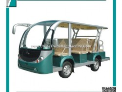Passenger Car, 11 Seat, Widely Used by Resort, Hotel, Park, Zoo, 72V 5kw, Curtis Controller