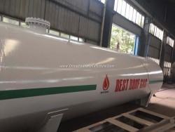 Dn2700mm 60000liters 60cbm 30mt 30tons 16000gallons LPG Storage Tank