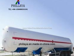 Liquid Petrol Gas Transport Storage Truck Semi Trailer LPG Tank