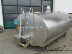 Sanitary Stainless Steel 1000 Liter Milk Cooling Tank Price (ACE-ZNLG-AO)