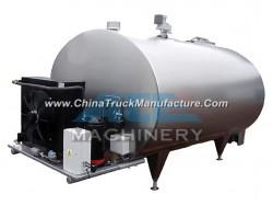 1000L Sanitary U Shape Milk Cooling Tank