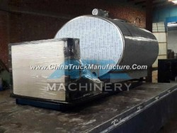 2000liter Sanitary Direct Expansion Farm Milk Cooling Tank