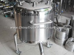 Stainless Steel Movable Pressure Tank with Manhole Cover