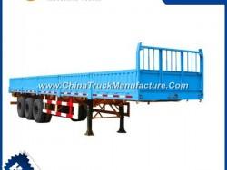 Semi Trailers 3 Axle Flatbed 13m 40 Ton for Sale