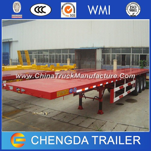 Hot Sale 20FT/40FT Flatbed Container Semi Trailer