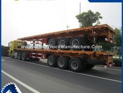 3 Axle Flatbed Semi-Trailer for Sale 9402tp