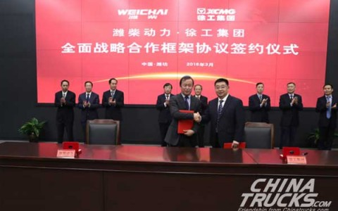 XCMG Deepens Partnership with Weichai Power
