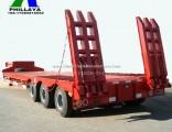 Low Loader Low Bed Truck Semi Lowboy Trailer