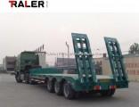 Low Bed Semi Trialer Semi Trailer Truck Trailer