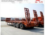ISO SGS CCC Approved Low Bed Semi Trailer From Manufacturer